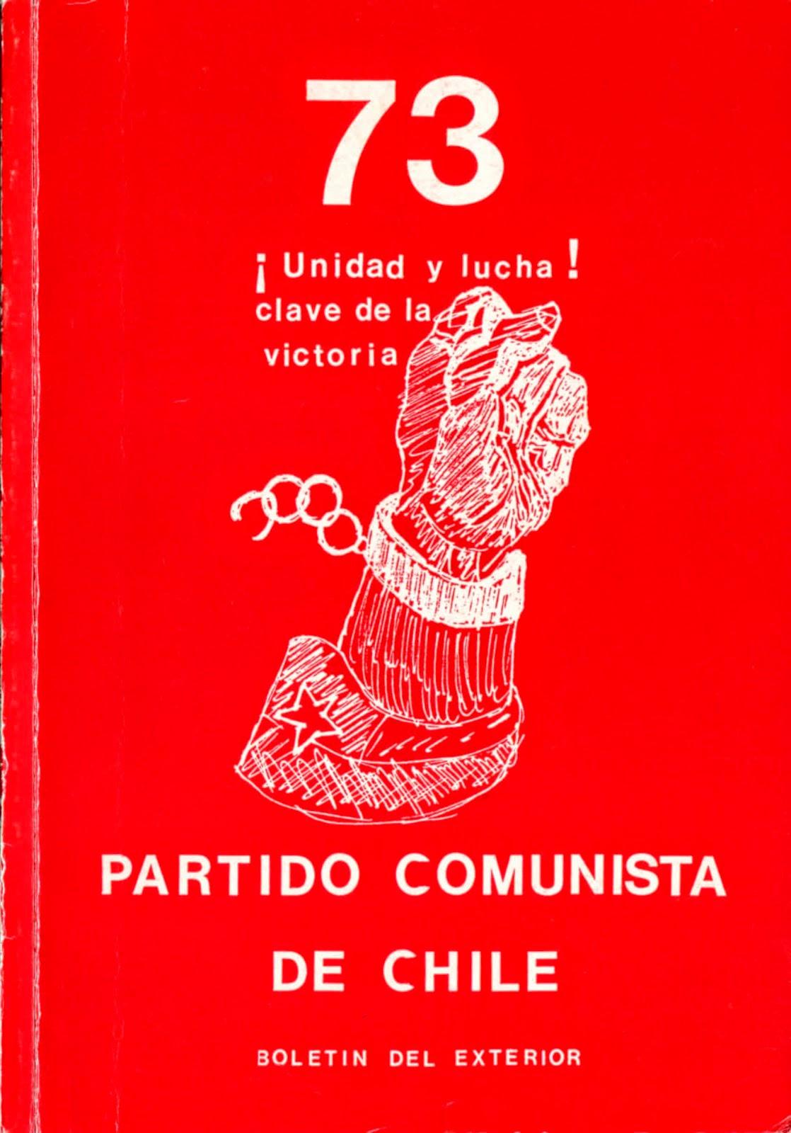 BOLETIN DEL EXTERIOR PARTIDO COMUNISTA DE CHILE