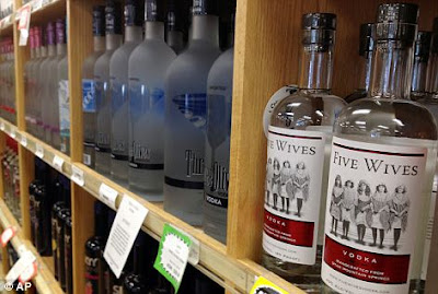 Five wives vodka banned