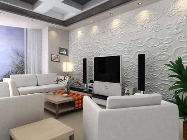 Designul viitorului pereti decorati cu modele 3d - Paredes de escayola ...