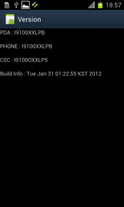 I9100XXLPB Galaxy S II Ice Cream Sandwich 4.0.3 SS8