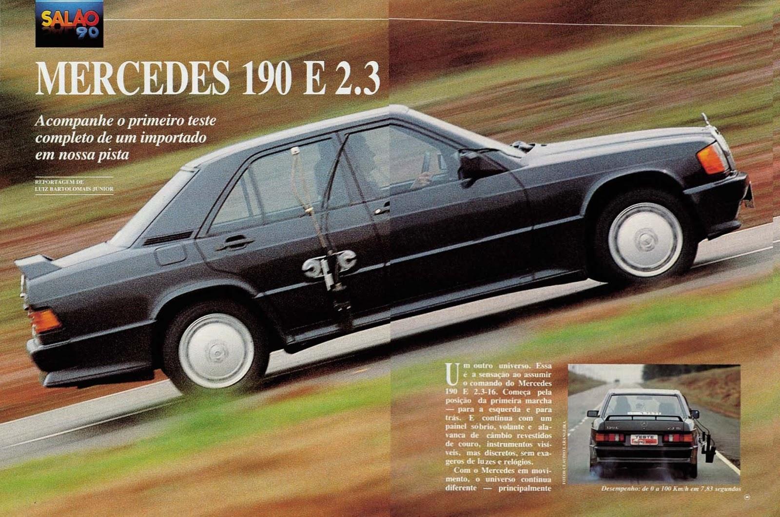 (W201): Avaliação Revista Quatro Rodas - outubro de 1990 - 190E 2.3 363%252C049%252C31%252C10%252CTE