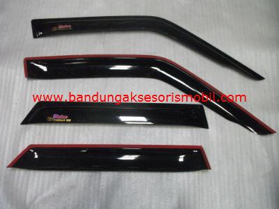 Talang Air Corolla SE Original Black Depan Belakang