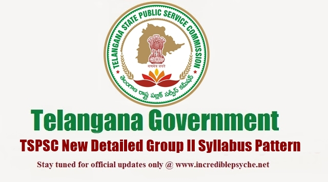 telangana tspsc group ii 2 syllabus examination pattern