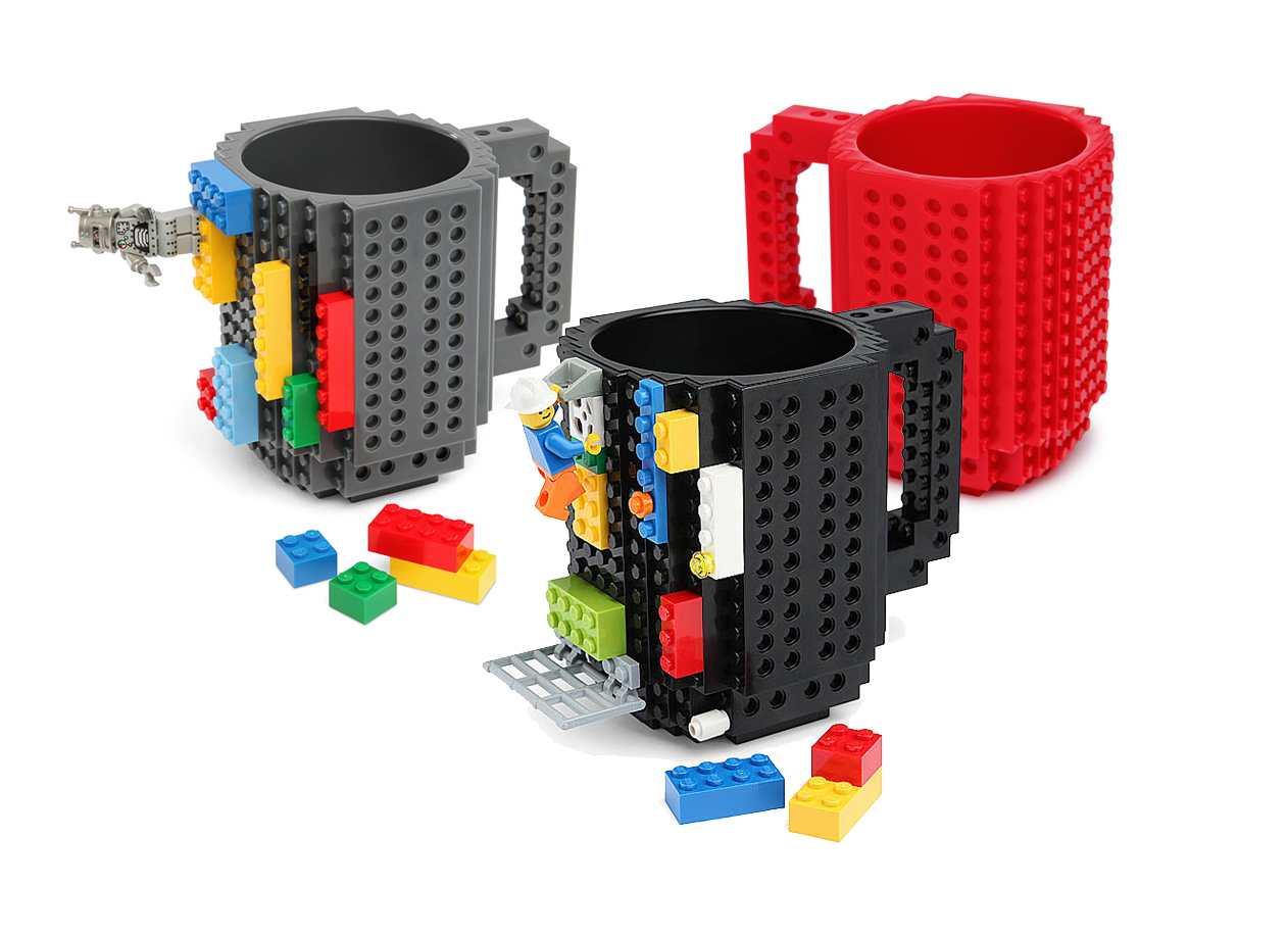 12 Designs de canecas super criativo, lego 2