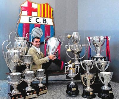 El Maestro: Xavier Hernández Creus - Page 2 Xavi+trophies