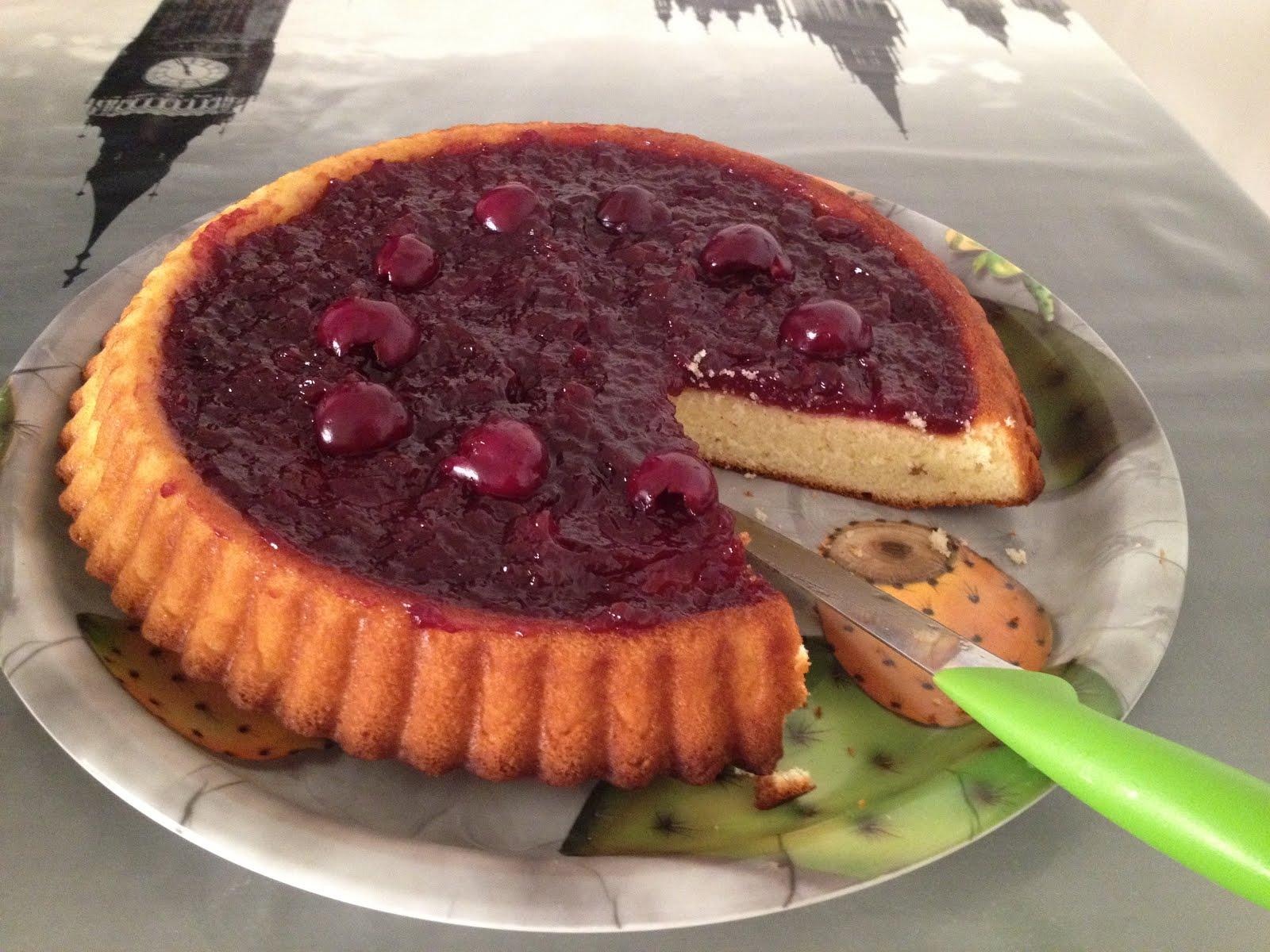 LA GAIA CUCINA DI PATTY...: Crostata morbida alle ciliegie