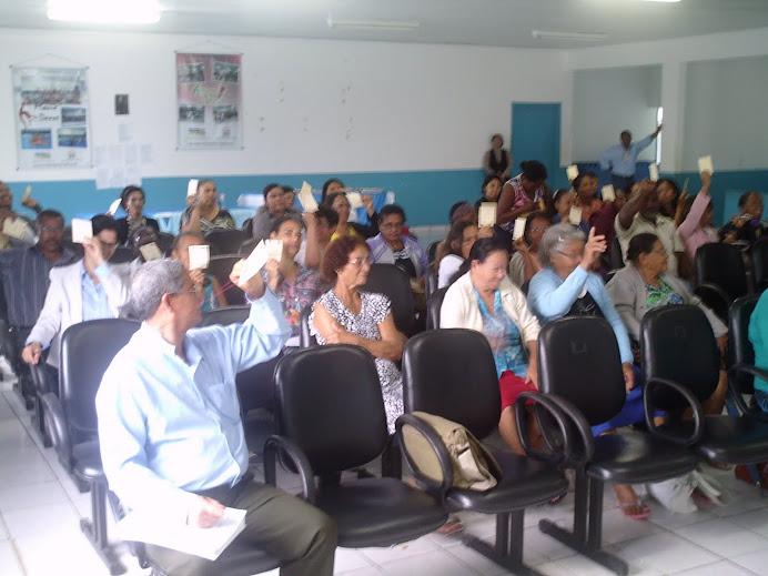 II Conf. Munic. de SAN de Conceição da Barra - 05 de agosto/2011