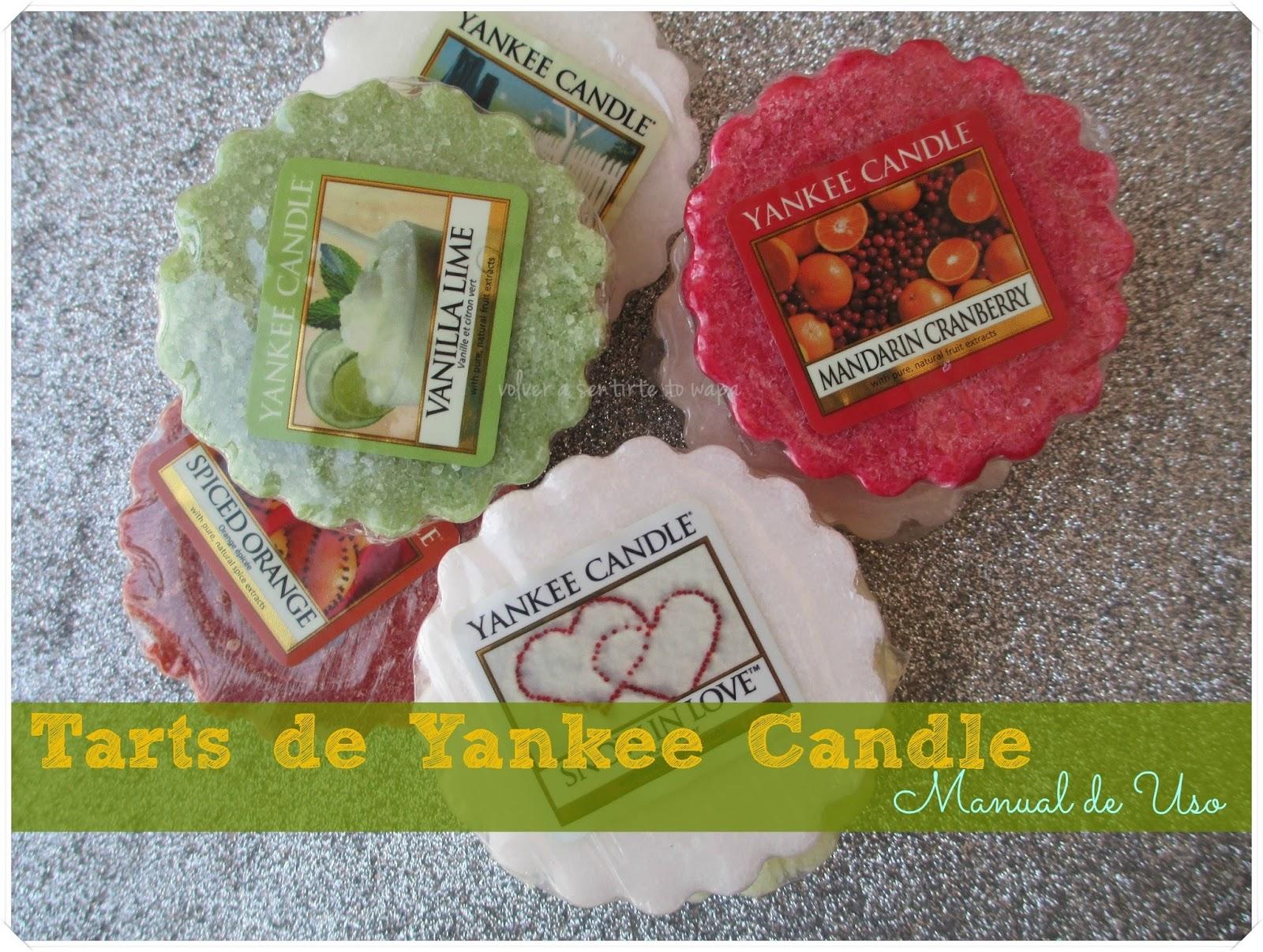 Yankee Candle {tarts}: Manual de uso y dónde comprarlas
