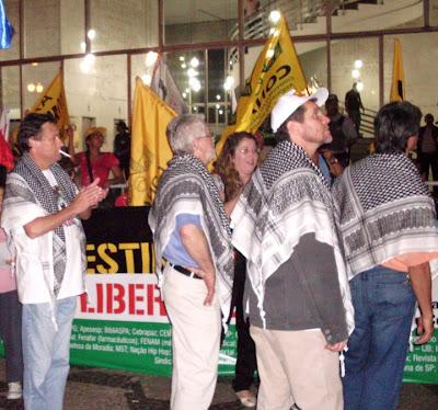 Ato histórico em São Paulo pelo Estado da Palestina Já - foto 29