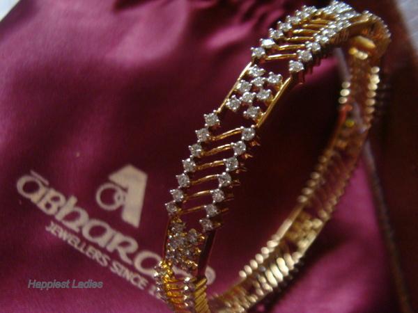 Indian Diamond Bangle+indian jewellery