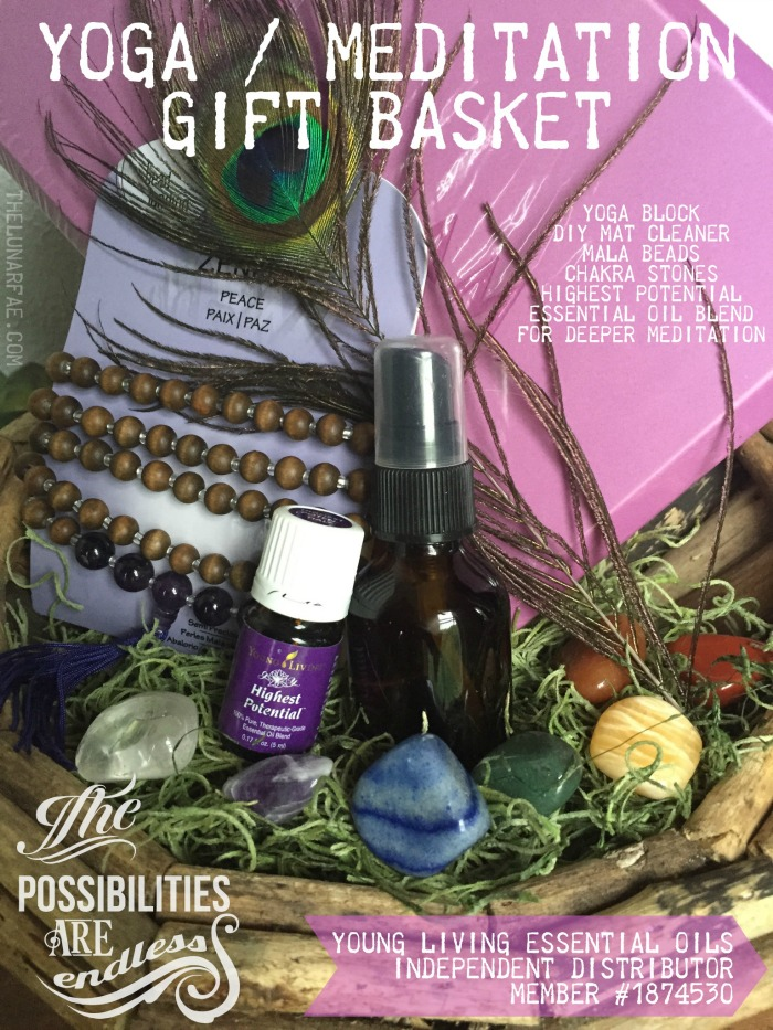 Practicing Gratitude and Harnessing the Spirit of Athena & Yoga Gift Basket for Balance Wellness and Peace | the lunar fae