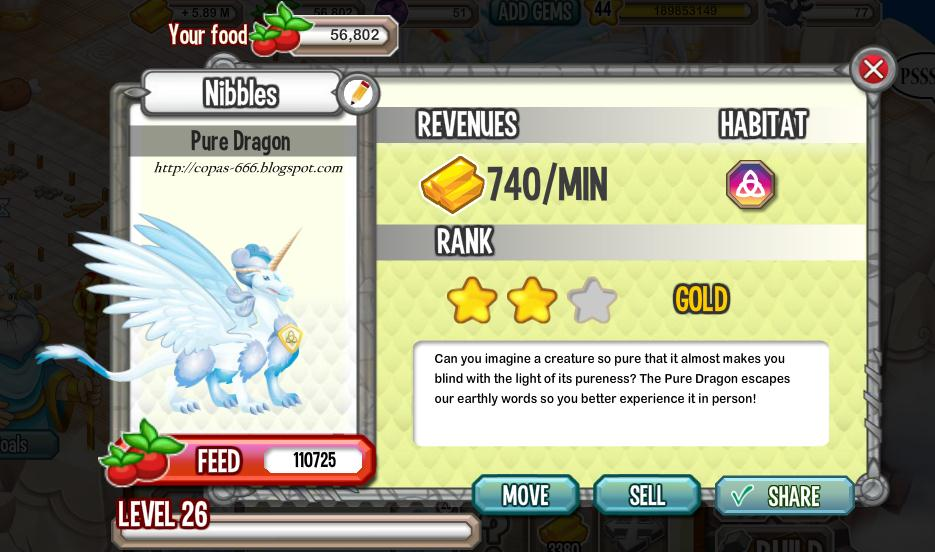 Tips Dragon City : Cara Gampang Dapat Pure Dragon Gratis