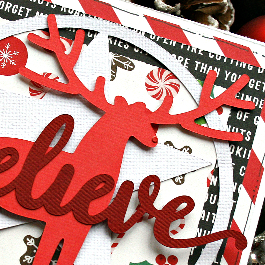 Sneak Peek Christmas Card by Monique Liedtke for 17turtles Digital Cut Files