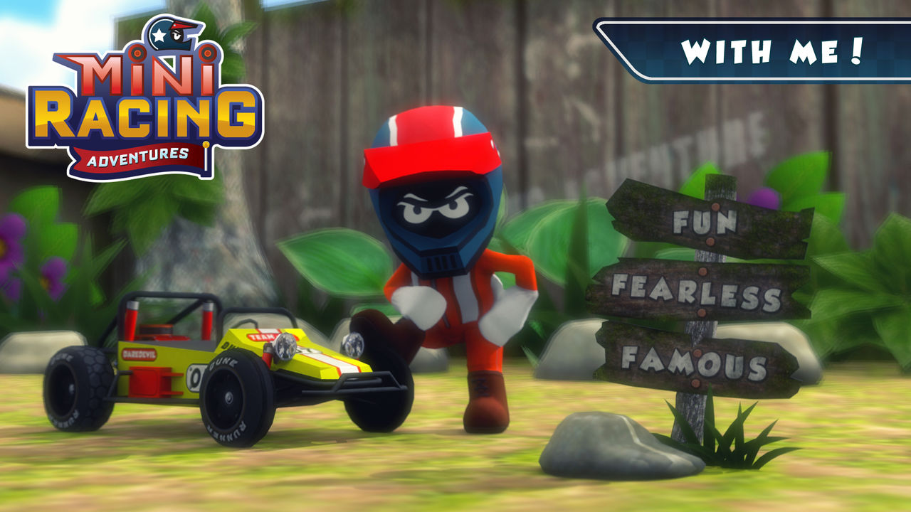 Mini racing adventures, game balap buatan indonesia
