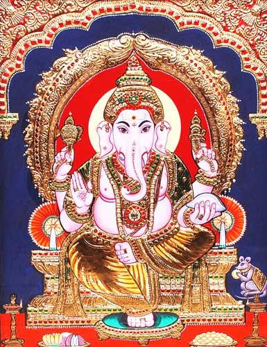 Tanjore Ganesha