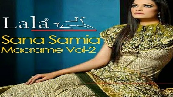Sana Samia Macrame Lawn Collection Vol 2