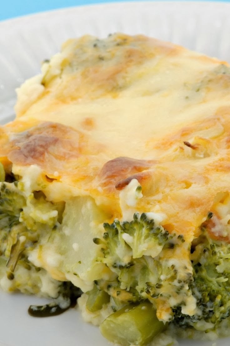 Broccoli Cheese Bake | Boy Meets Bowl