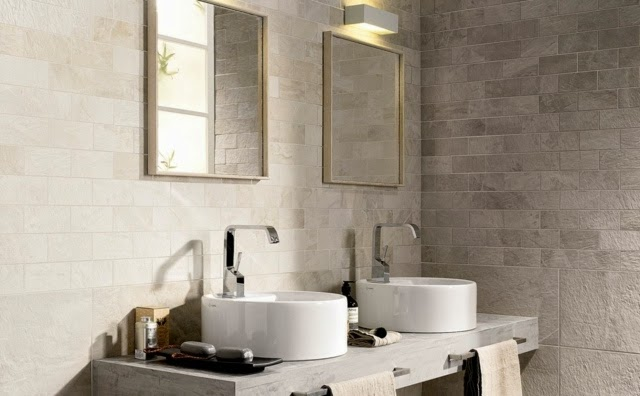 Modern Natural Bathroom Designs : New tile design ideas and trends for modern bathroom designs