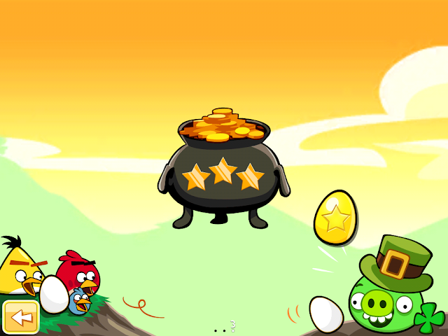 Angry Birds Seasons: Go Green, Get Lucky - Golden Eggs