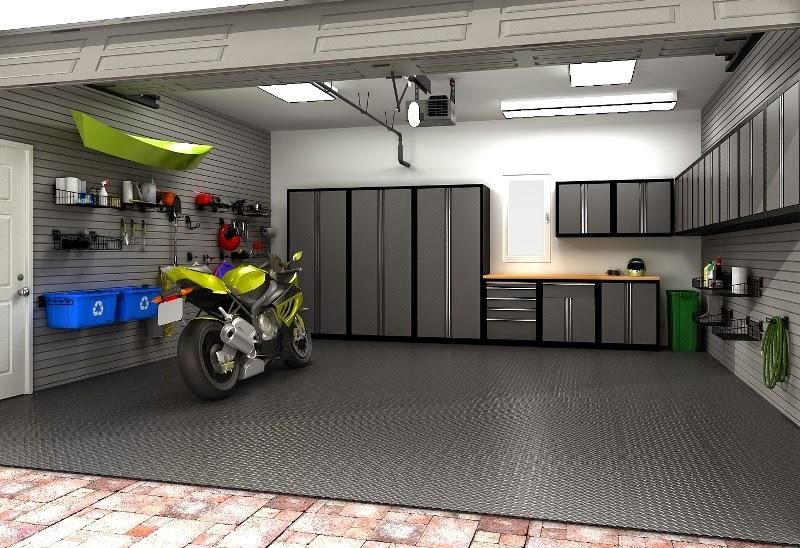 Desain Garasi Rumah Modern Tampak Depan