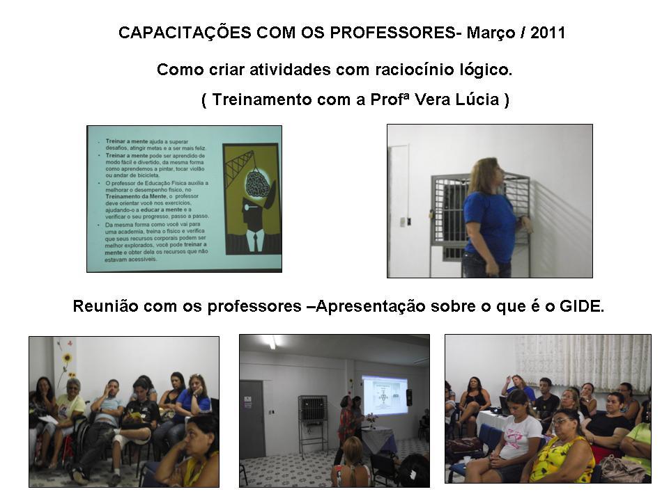 CAPACITAÇÃO DOS PROFESSORES-2011
