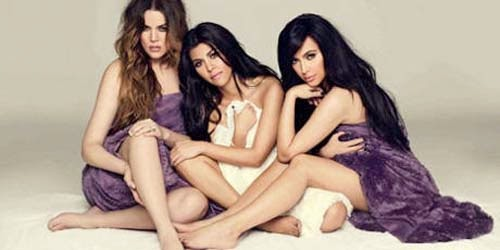 Kim Kardashian Nude Together Two brother in Ad Towe