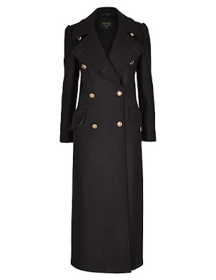 Marks and Spencer Speziale Wool Rich Double Breasted Overcoat