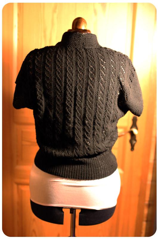 Knit Vintage - Jayne Vintage Top Rückenteil