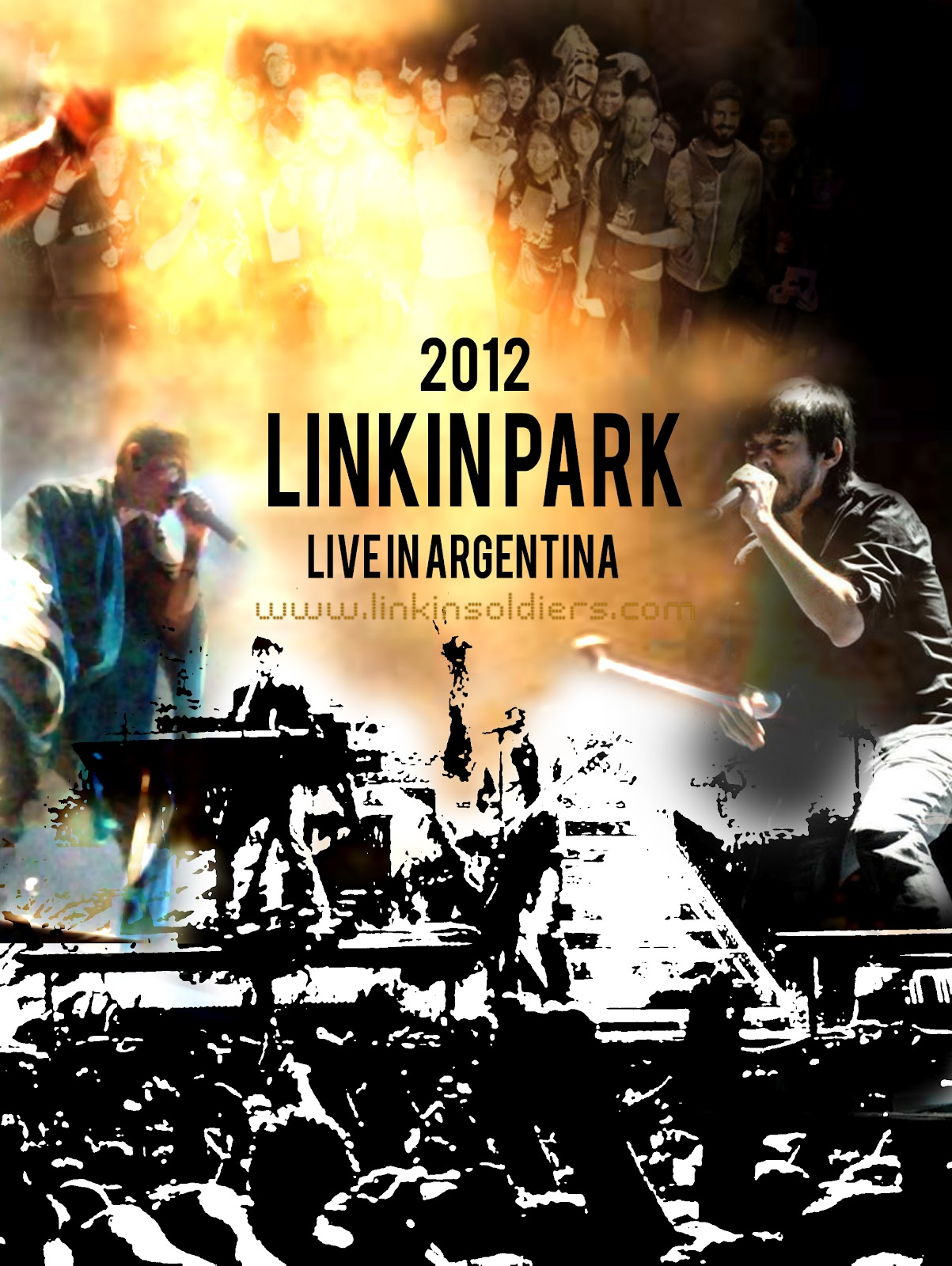 Linkin Park In Argentina  LinkinParkcom