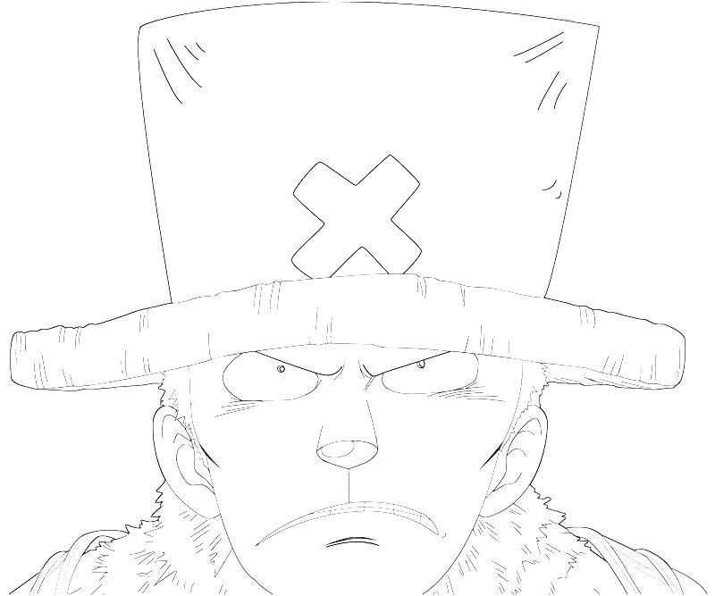 printable-one-piece-tony-tony-chopper-face-coloring-pages