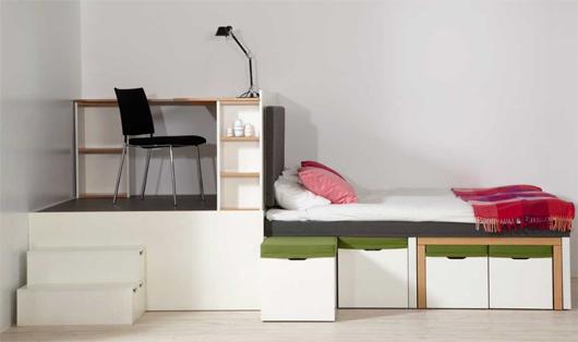 Büro, Schlafzimmer, Esszimmer - alles fürs Zuhause
