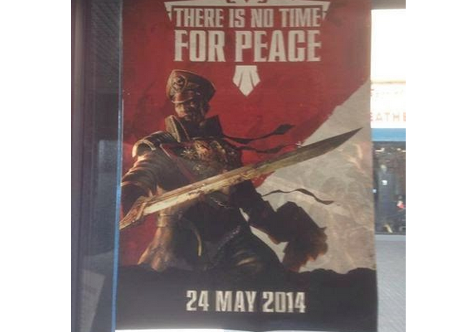 Poster There is no Time for Peace