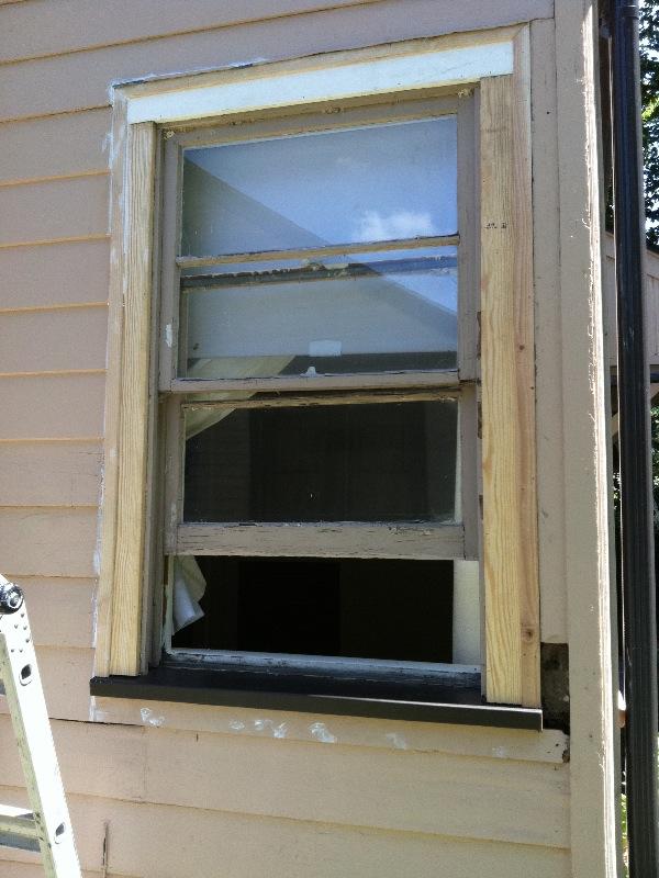 Consider it done construction custom window sill flashing for Window z flashing