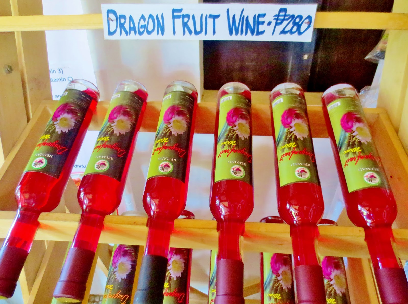 REFMAD Farm's Dragon Fruit Wine