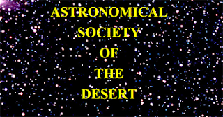 Astronomical Society of the Desert