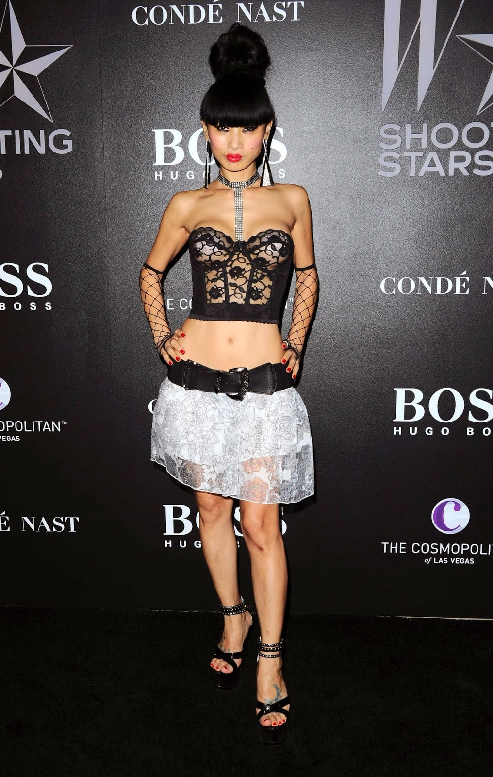 Bai Ling - W Magazines Shooting Stars Exhibit in LA
