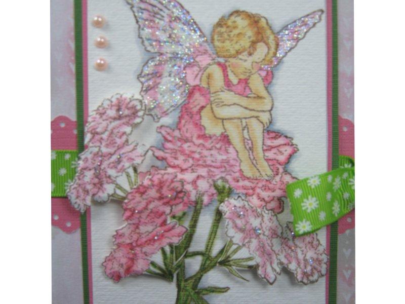 Candytuft Flower Fairy Flower Fairy Unmounted Stamp