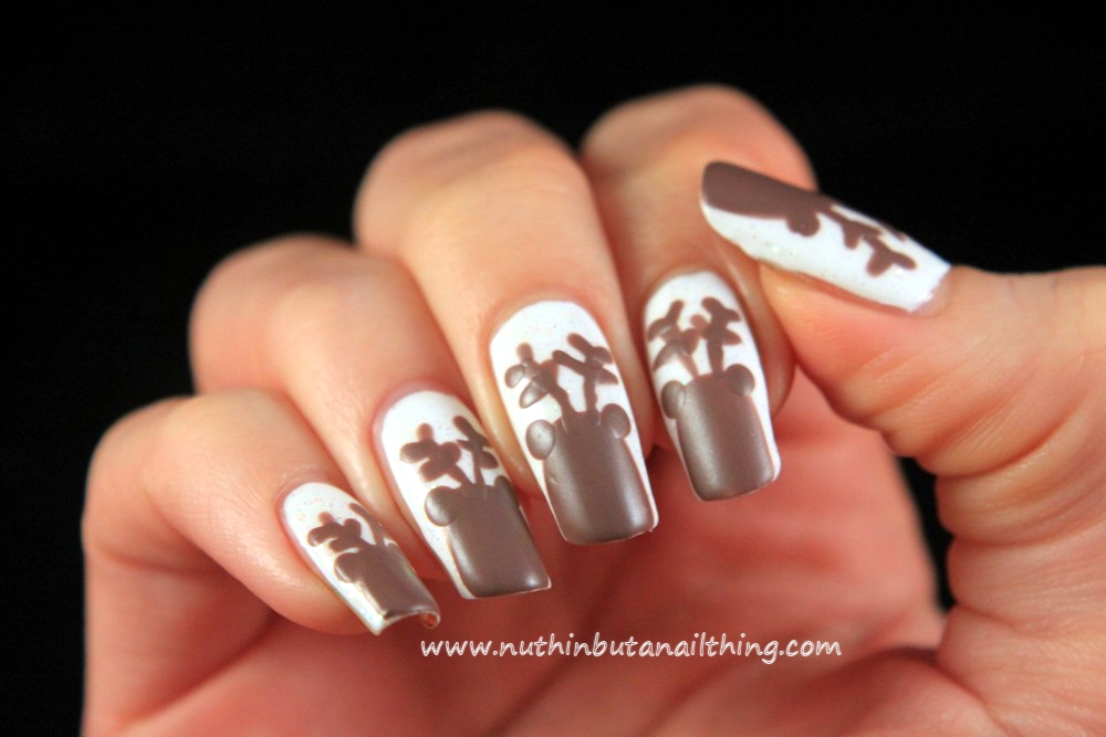 nuthin\' but a nail thing: Reindeer Nail Art Tutorial