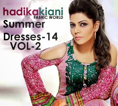 Hadiqa Kiani Summer Lawn 2014 Vol-2