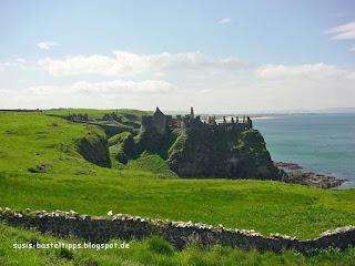 castle an der Nordküste Irlands