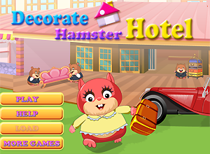 Decorate Hamster Hotel