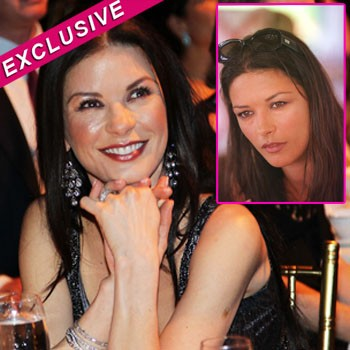 catherine zeta jones facelift