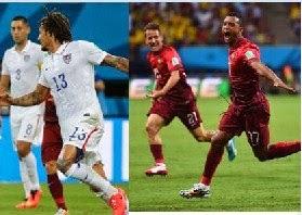 AS samakan kedudukan sementara 1-1 Lawan Portugal