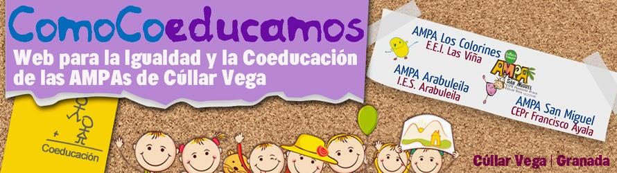 Web de Igualdad y Coeducación ComoCoeducamos