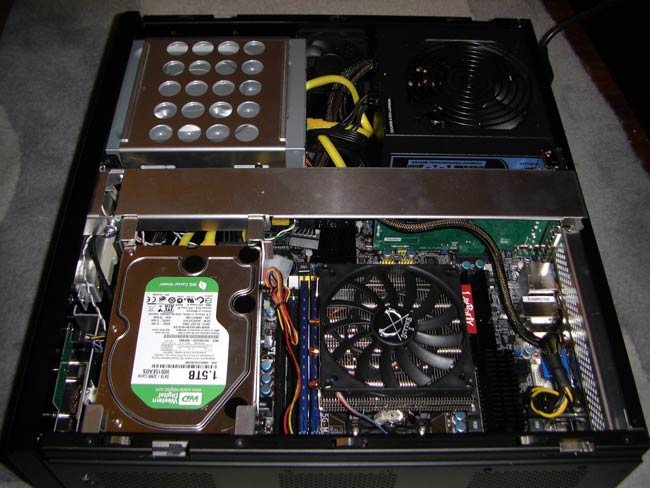 Interior Lian Li PC-C39B