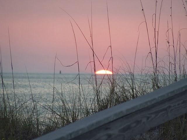 Our beautiful Gulf Coast sunset
