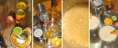 Zubereitung Maracuja-Orange-Vanille-Kokos-Cocktail