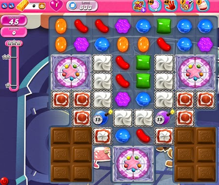 Candy Crush Saga 833