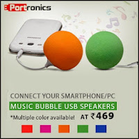 Buy Portronics Music Bubble Speaker Rs. 339:Buytoearn