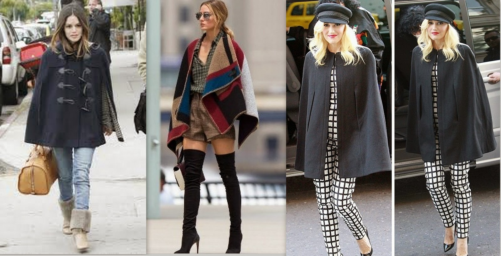 trend, cape trend, celebrities in cape coat, cape trend fall winter inspiration